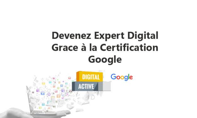 Certification digital active Google