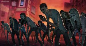 zombie smartphone