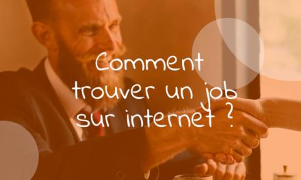Comment trouver un emploi sur internet ?
